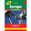 Európa nagyatlasz - Top 500 tipp - f&b EURO 500