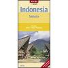 Indonézia: Szumátra térkép - Nelles
