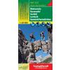 Wetterstein-Karwendel-Seefeld-Leutasch-Garmisch Partenkirchen turistatérkép - f&b WK 322