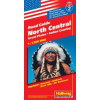 North Central (Great Plains, Indian Country) autótérkép - Hallwag No.2