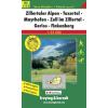 Zillertaler Alpen-Tuxertal-Mayrhofen-Zell im Zillertal-Gerlos-Finkenberg turistatérkép - f&b WK 5152