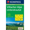 WK 64 - Villacher Alpe - Unteres Drautal turistatérkép - KOMPASS