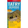 Nyugati-Tátra (szlovák és lengyel) turistatérkép - ExpressMap