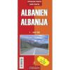 Albánia autótérkép - Intersistem