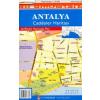 Antalya és környéke térkép - Yayinlari