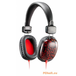 Genius HS-M470 Black/Red Mobil headset,2.0,3.5mm,Kábel:1,2m,32Ohm,20Hz-20kHz,Mikrofon,Black/Red