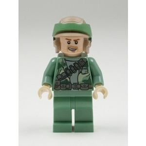 LEGO Rebel Kommandós minifigura töltényátvetővel, borostás