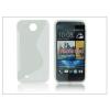 Haffner HTC Desire 300 szilikon hátlap - S-Line - transparent