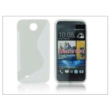 Haffner HTC Desire 300 szilikon hátlap - S-Line - transparent tablet tok