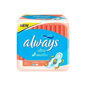 Always Ultra Sensitive Normal Plus betét 10 db