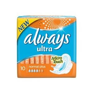 Always Ultra Normal Plus betét 10 db