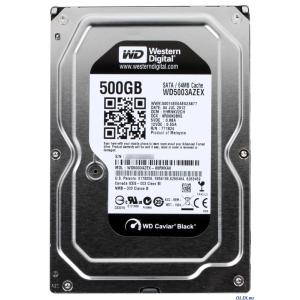Western Digital 500GB 7200RPM SATA3 64MB WD5003AZEX