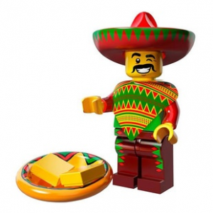 LEGO Taco kedd fiú minifigura, 71004 The Lego Movie