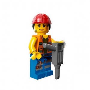 LEGO Melós Gail minifigura, 71004 The Lego Movie