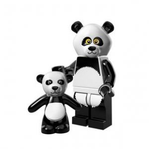 LEGO Panda fiú minifigura, 71004 The Lego Movie