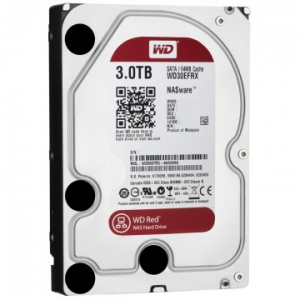 "Western Digital Red 3.5"" 3TB 5400rpm 64MB SATA3 WD30EFRX"