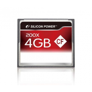 Silicon Power CF CARD 4GB SILICON POWER 200x