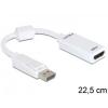 DELOCK 61767 Adapter Displayport male > HDMI female