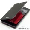 LG F6 Flip cover tok, Fekete
