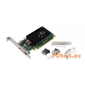 PNY QUADRO NVS 315 1GB DDR3 nVidia,PCIE,1GB,DDR3,64bit,Aktív hűtés,1xDVI,LP