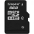 Kingston Micro-SDHC memóriakártya, 8GB Class 4 Single Pack (SDC4/8GBSP)