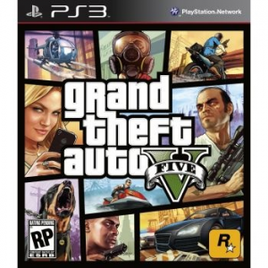 Grand Theft Auto V játék PlayStation 3-ra (GTA5PS3)