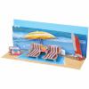 POPSHOTS STUDIOS LTD. Popshots képeslap  panoráma  Beach Day/Tengerpart
