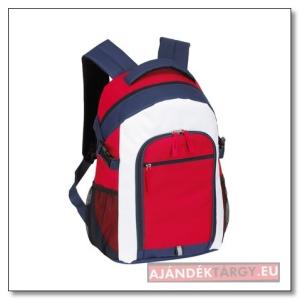 Marina hátizsák, piros/kék/fehér