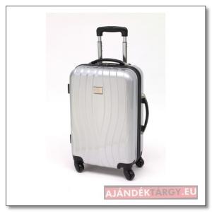 """""""St. Tropez"""" gurulós bőrönd, ezüst"""