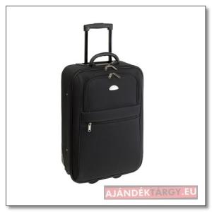 """""""Dublin"""" gurulós bőrönd bélelt belső résszel, kézipoggyász méretű"""