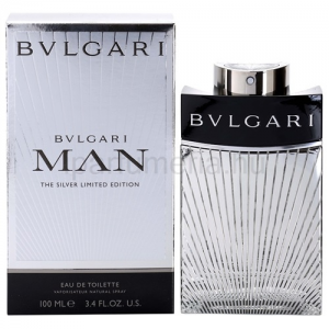Bvlgari Man The Silver Limited Edition EDT 100 ml
