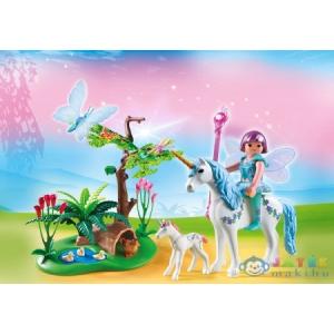 Playmobil Harmatcsepp Hanga És A Bébi Unikornis - 5450