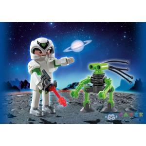 Playmobil 5241 - Űrhajós Tapadótalpas Robotkával