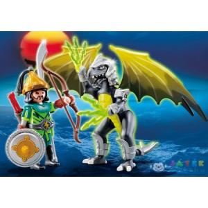 Playmobil Szélföld Harcosa És Sárkánya - 5465