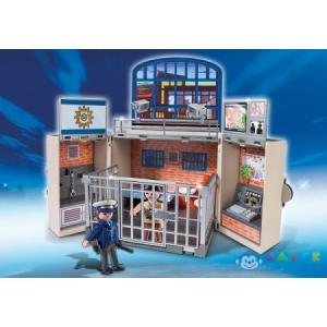 Playmobil Rendőrségi Fogda-Ládikám, Kulcsocskával - 5421