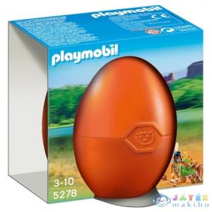 Playmobil - Tojás - Indiánlány Erdei Állatokkal - 5278