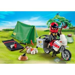 Playmobil Kempingező Túramotoros - 5438