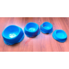 1 l-es gumis műanyag etetőtál (SMAGL-D)