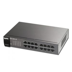 ZyXEL GS1100-16 16 port Gigabit Unmanaged Switch