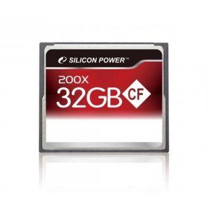 Silicon Power CF CARD 32GB 200x