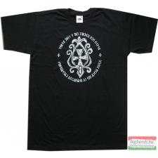 Avar kereszt póló - fekete férfi póló