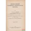 Spencer Herbert synthetikus filozófiájának kivonata