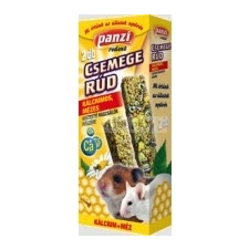 Panzi csemege dupla rúd 135 g kistestű rágcsáló kálciumos, mézes rágcsáló eledel
