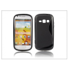 Haffner Samsung Galaxy Prevail 2 szilikon hátlap - S-Line - fekete
