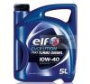 ELF Motorolaj ELF Evolution 700 Turbo Diesel 10w-40 5 Liter motorolaj
