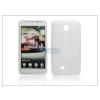 LG LG P875 Optimus F5 szilikon hátlap - S-Line - fehér