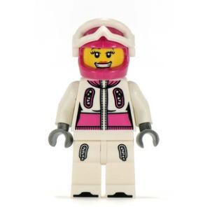 LEGO Minifigura 3. sorozat- Snowboardos (kieg.nélkül)
