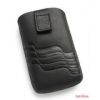 CELLECT Dreim iPhone 5/5S méretű slim bőr tok,Fekete