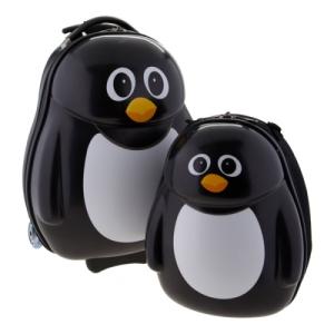 Pingvin Utazó Gyerek Bőrönd szett 2 db-os