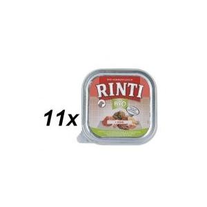 RINTI Bio Kutyaeledel marhahússal 11 x 150g